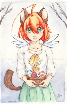 Happy Easter! by Shia-chan