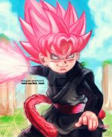 Kid goku black by Mark-Clark-II