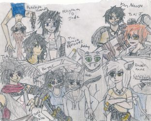 The Brave Pirates Group picture by SpiceWolf18