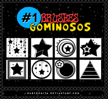 Brushes Gominosos #1 by gabygomita