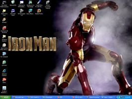 Iron Man WP by BlaqkElectric