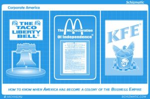 Corporate America by schizmatic
