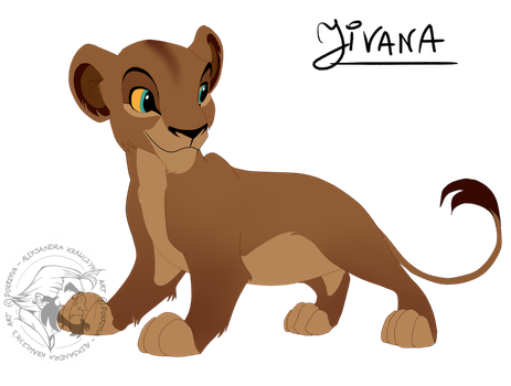 Lioness cub - Adopt (closed) by pokrzyva