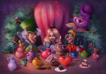 The tea party by SandraWinther