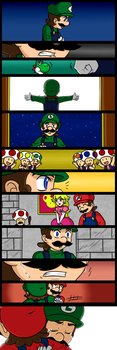Luigi Gets His Hero On: THE END by RS-V22