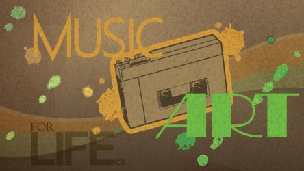 Music + Art for Life by lille-cp