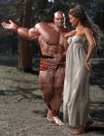 Hercules and Deianira: Homecoming by SimonWM
