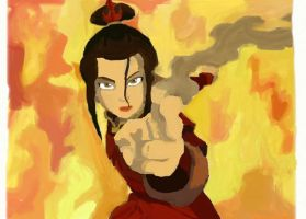 Azula - Almost perfect by Hecatia10