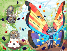 Pocket Island: Lotus Petal's evolution piece!