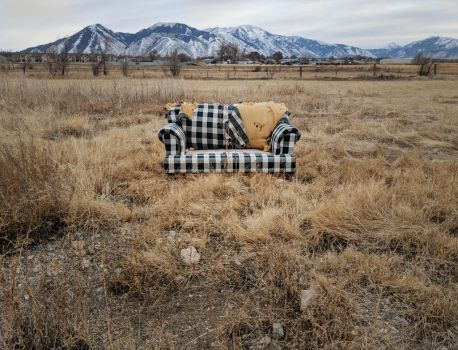 abandoned couch 10 by yellowicous-stock