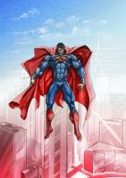 Man of Steel by michel1977