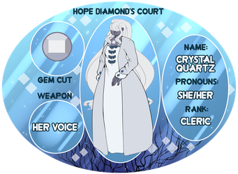 [Hope Diamond Court App]: Crystal Quartz by Atanapotinija
