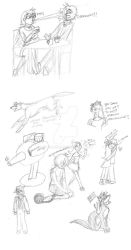 The Once and Future Platypus  - SPOILER DOODLES by Tetsu-neko