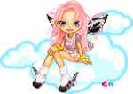 eCandy theme doll-2 by pixelpink
