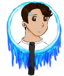 The Android sent by CyberLife [Transparent] by NightmareCraft