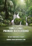 Forest Lake Stock by nathies-stock