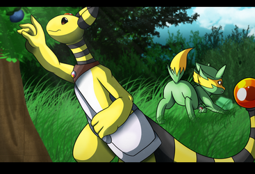 [PMD-F] Team Light: Mission 5 by YoshiMister