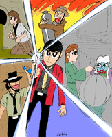 Lupin III: the Secret of Mamo by DrFurball