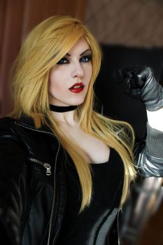 Black Canary Costest by AkiDiarmuid