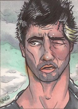 Mad Max Sketch Card by Ross-A