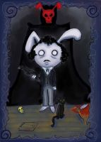 Bunny Allan Poe by Alleby