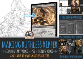 Making Ruthless Ripper - video by ClintCearley