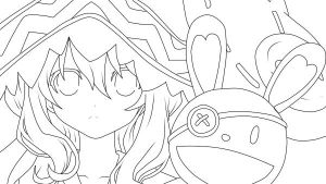 yoshino another lineart c: by lemonyPV