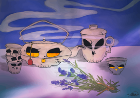 Life of the Tea Party by ArtlessDesigns