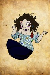 MARINS ZOMBIE by ladyRuin