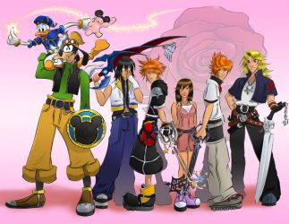 Host Theme: Kingdom Hearts by Danni-Stone