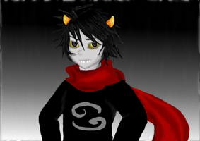 Karkat by yaneshwolfe