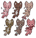 Kitten Adopts [3/6 OPEN][SET PRICES][POINTS ONLY] by alliemews