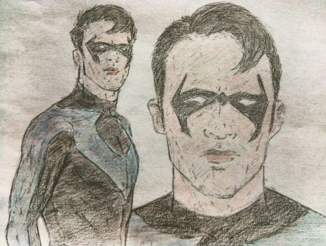 Nightwing by lux-fantasia