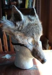 Wolf, Coyote and Fox Masks FS! by lupagreenwolf