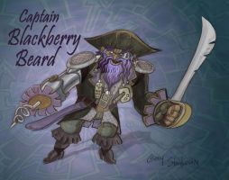 Captain Blackberry Beard by Stnk13