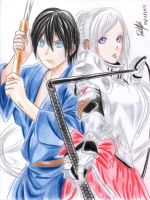 Yato and Vaisravana by danielcamilo