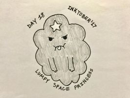 Inktober Day 18- LSP by Revenir-Ghoul