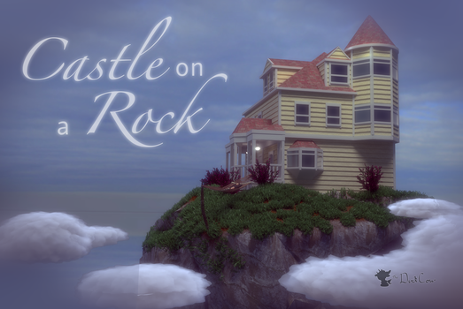 Castle on a Rock by TheDuckCow