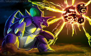 Nidoking vs Weezing