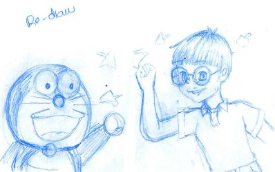 Doraemon Stand by me [Re Draw scene] by Pollito-Carmy