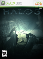 halo 3 game cover by enummi
