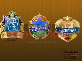 Proposed Logo for IPL Teams by MadreMedia