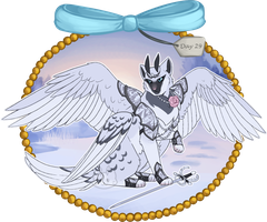 Winter Advent Day 29 - Swan Prince(ss) by Arquerite