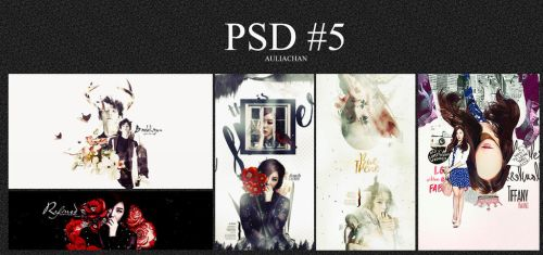 PSD PACK #5 by auliachan