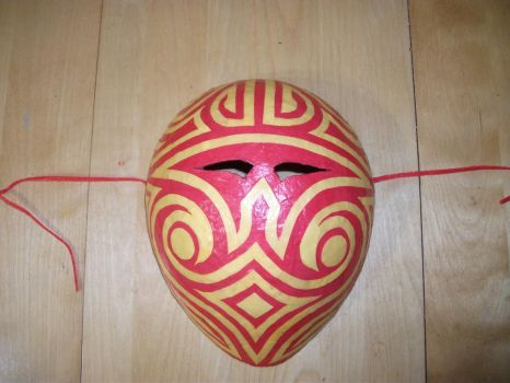 handmade mask 2 by hollta