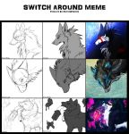 Meme: Switch Around by Snow-Body