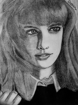 Done Sketching Taylor Swift at Vanity Fair 2013 by Darpansinghh