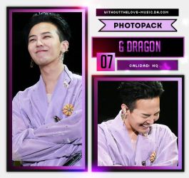 G DRAGON #20 (BIG BANG) |PHOTOPACK| by WithoutTheLove-Music