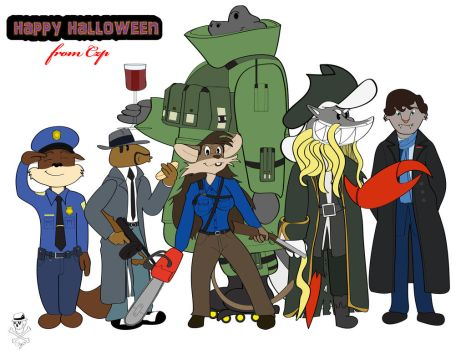Happy Halloween from CZP by CZProductions