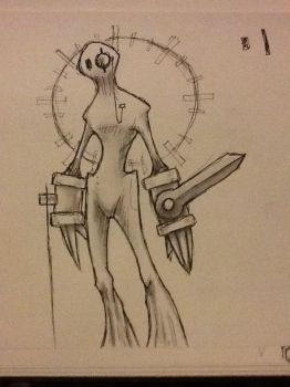 Watchman Sketch by streedes
